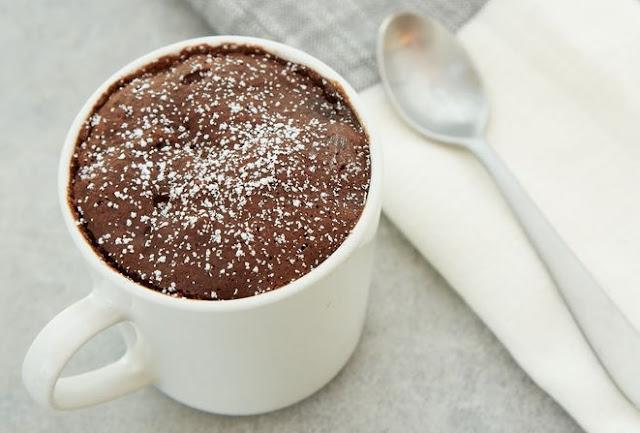 Chocolate Mug Cake #dessert #cake