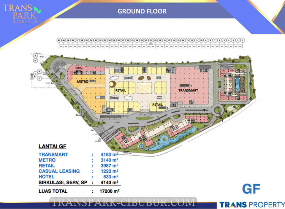 Ground Floor TransPark Cibubur Superblok