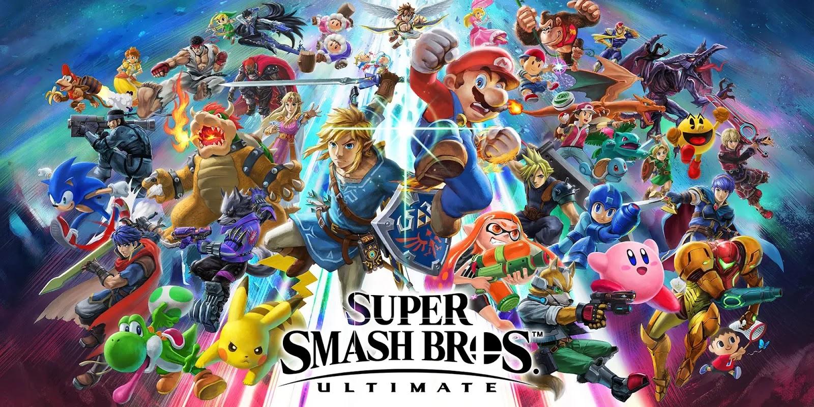 Super Smash Bros Ultimate recibe actualización 8.1.0