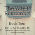 The Way to Remember Book Spotlight & Book Tour Giveaway