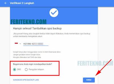 cara membuat ketika login akun gmail membutuhkan kode unik di hp untuk verifikasi 7