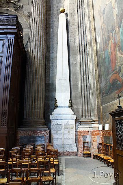 Gnomon de la Iglesia de Saint Sulpice, Paris