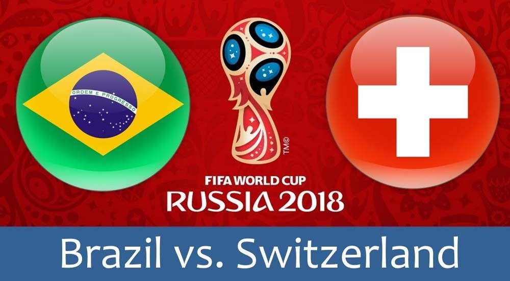 Brazil vs Switzerland Live Telecast in India, IST Time - TV Channel Info