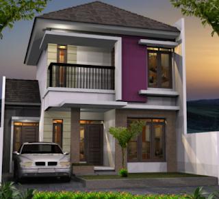 Gambar Desain Rumah 2 Lantai