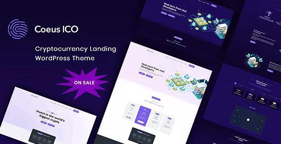 Coeus v1.1.5 - Landing Page tiền điện tử