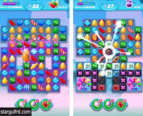 تحميل لعبة Candy Crush Soda Saga كاندي كراش صودا ساغا  للأيفون والأندرويد