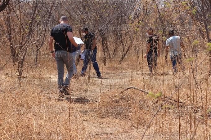 Policia encontra três corpos com as mãos amarradas em estrada carroçável que liga a RN 013 a estrada da raiz