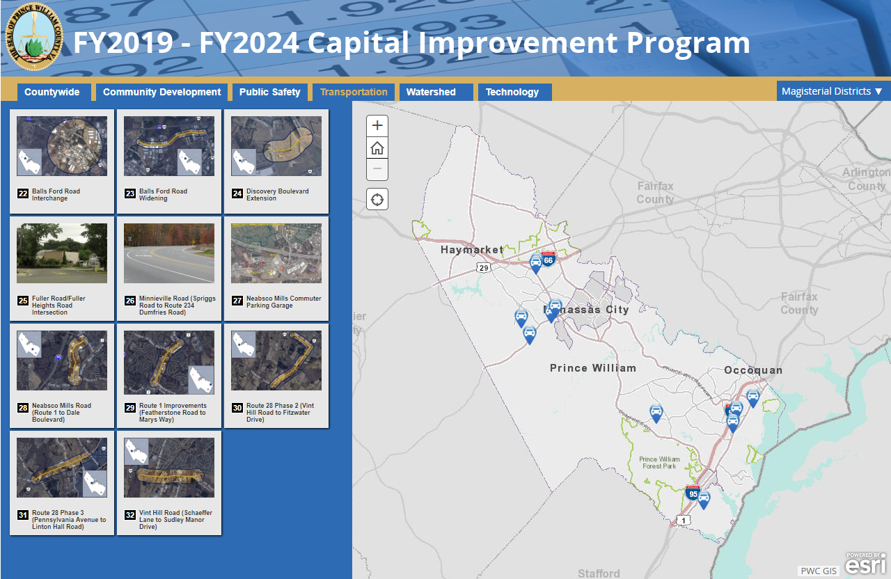 upon review of the adopted fy2019 fy2024 capital improvement program and the county s current and forecast debt service one thing really stands out when