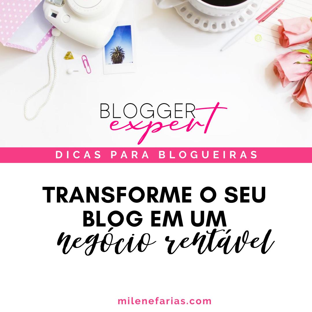 Curso Blogger Expert para Monetizar o seu Blog