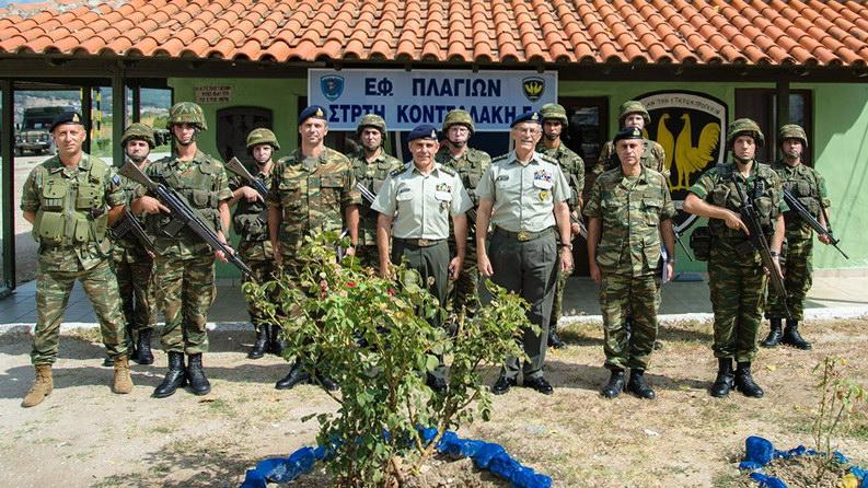 Επίσκεψη Αρχηγού Γενικού Επιτελείου Στρατού στον Έβρο