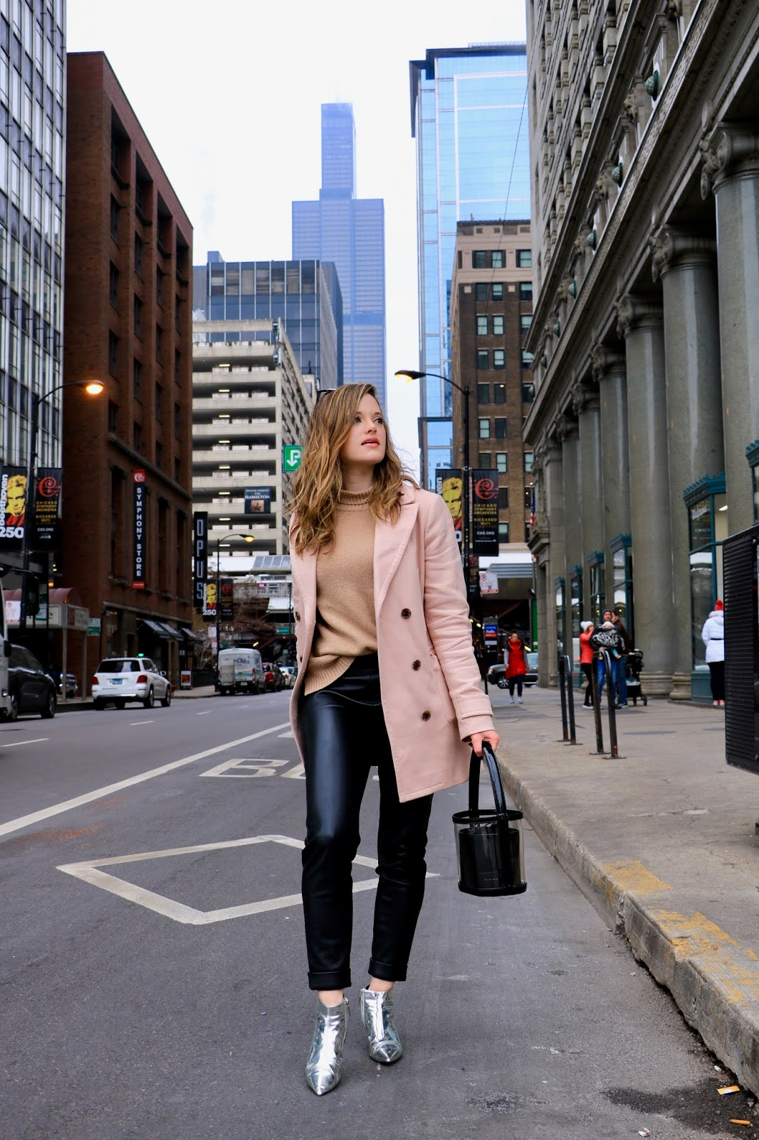 Chicago fashion blogger Kathleen Harper's winter outfit for work or date night.