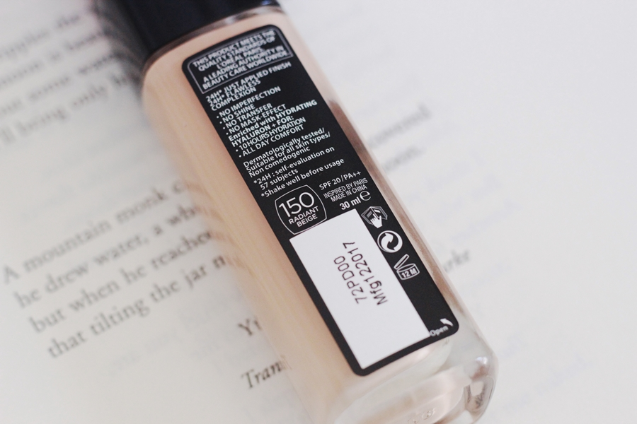 L'Oreal Infallible Stay Fresh Shade 150