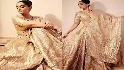 Sonam Kapoor Royal look Photos