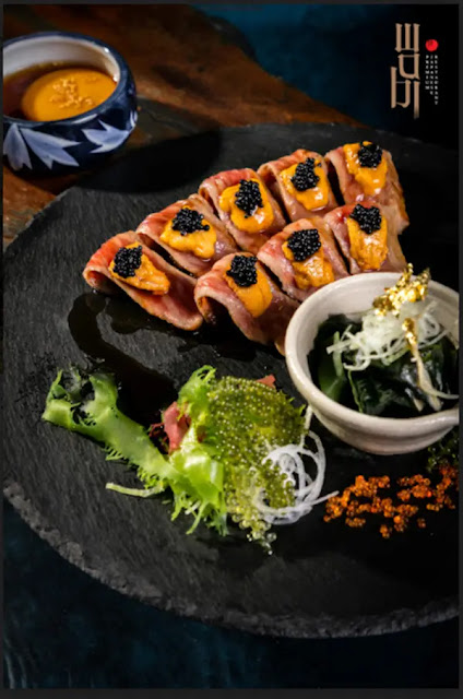 Special Hitachi Grilled Beef only at Wabi Premium
