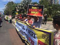 Demo di Surabaya, Protes Pejabat RI Terima Sekjen Partai Komunis Vietnam
