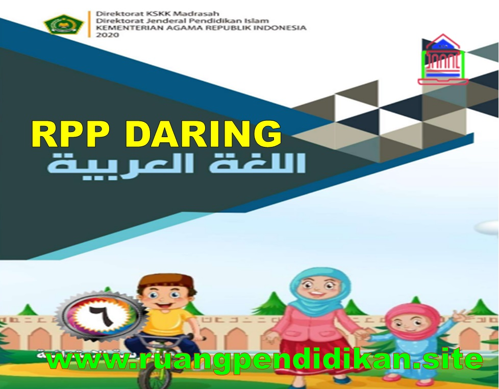 RPP Daring Bahasa Arab Kelas 6 SD/MI