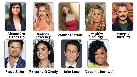 HBO Max Series The White Lotus  cast