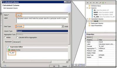 Table Transpose in SAP HANA Modeling