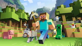 تحميل وتنزيل لعبة ماين كرافت لنظام Android اندرويد الهواتف المحمولة Minecraft  الان