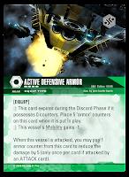 Active Defensive Armor