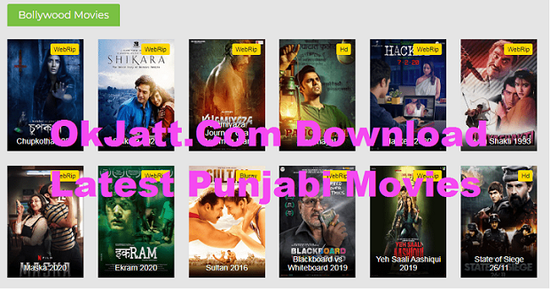 OkJatt.Com 2020 Download Latest Punjabi Bollywood Movies