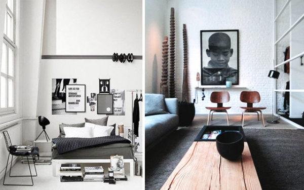 Marzua estilo masculino en decoraci n for Cuantos estilos de decoracion de interiores existen