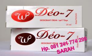 Hilangkan Bau Badan Dengan Deodorant Cream