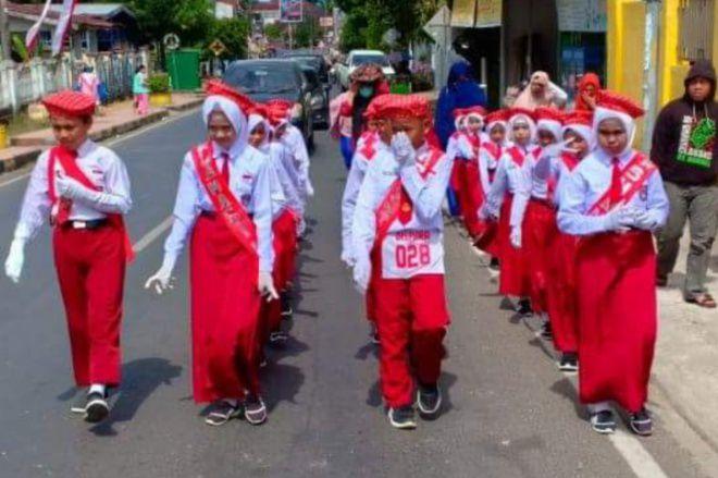 Daftar Sekolah Juara Lomba Gerak Jalan Indah Tingkat SD di Bone 2019