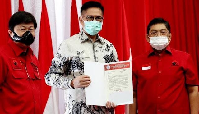 Kecewa Pernyataan Puan, Paslon Cagub Sumbar Mulyadi-Ali Mukhni Kembalikan SK PDIP