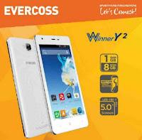 Evercoss A75G Winner Y2 hp kitkat dibawah 1 juta