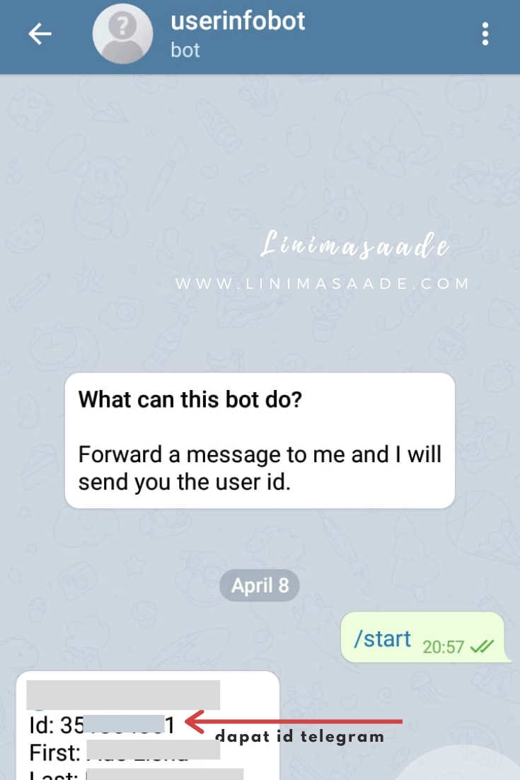 Cara Mendapatkan Id Telegram