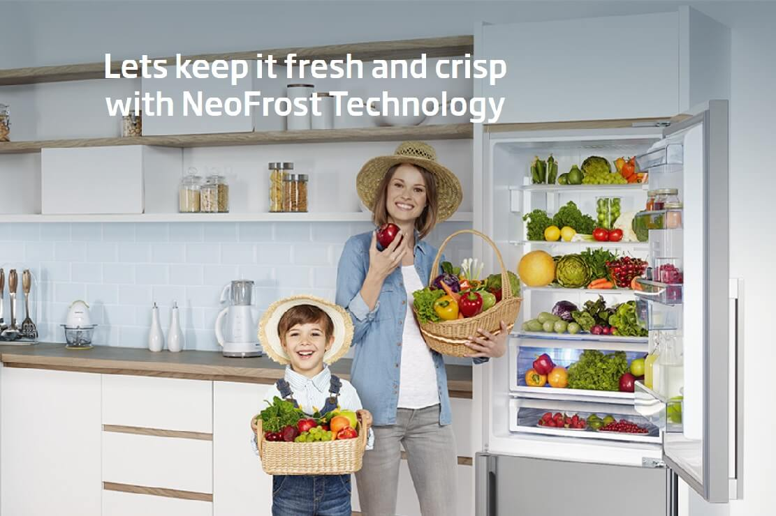 Beko Refrigerators Now with NeoFrost+ Technology; Perishables Stay Fresh up to 30 Days