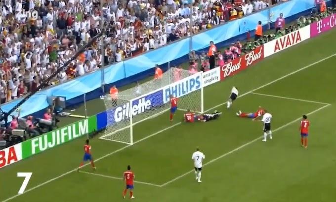 Klose và 16 bàn trong vùng cấm của 'Vua dội bom' World Cup