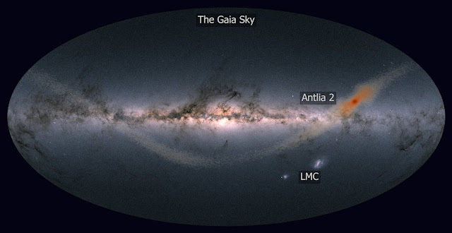 Gaia spots a 'ghost' galaxy next door