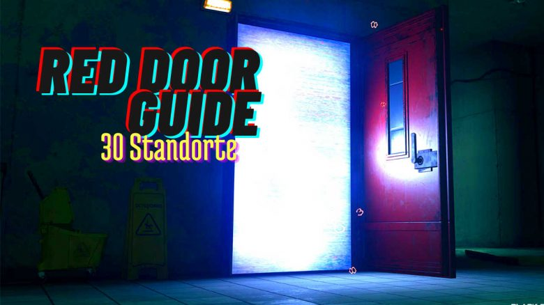 """CoD Warzone: Everything about the """"Red Doors"""" fast travel system - with 30 door locations"""