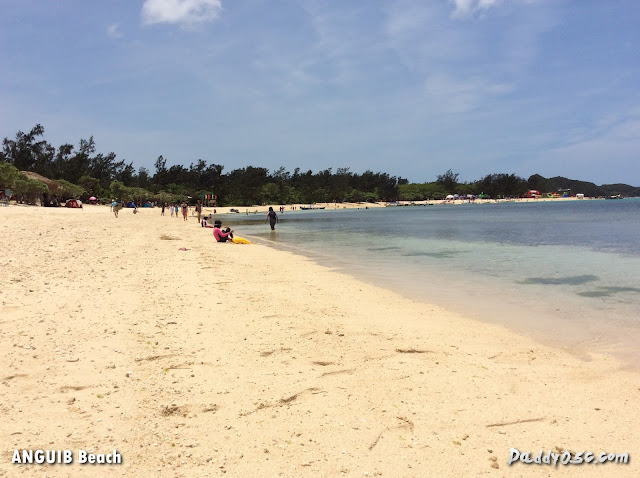 white sand Anguib Beach, Sta. Ana Cagayan