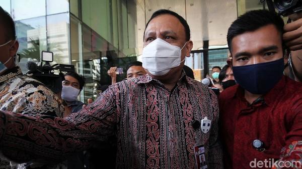 Firli Bahuri Pamer ke Jokowi: KPK Selamatkan Rp 10,4 T Uang Negara