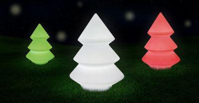 arboles de navidad luminosos