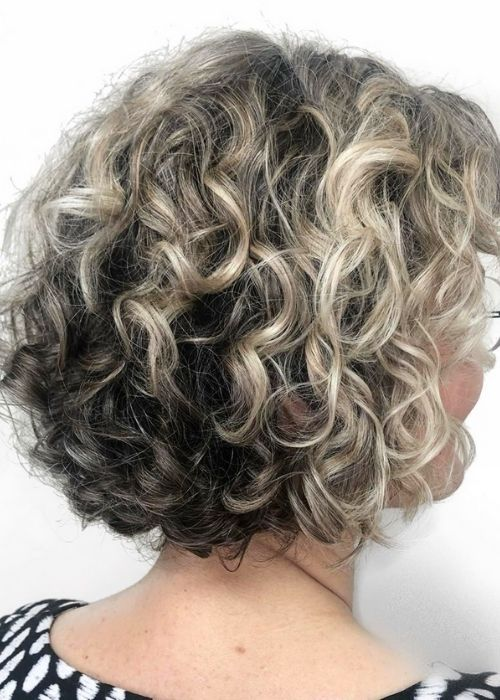 Curly Pixie Hairstyles for Women Over 60
