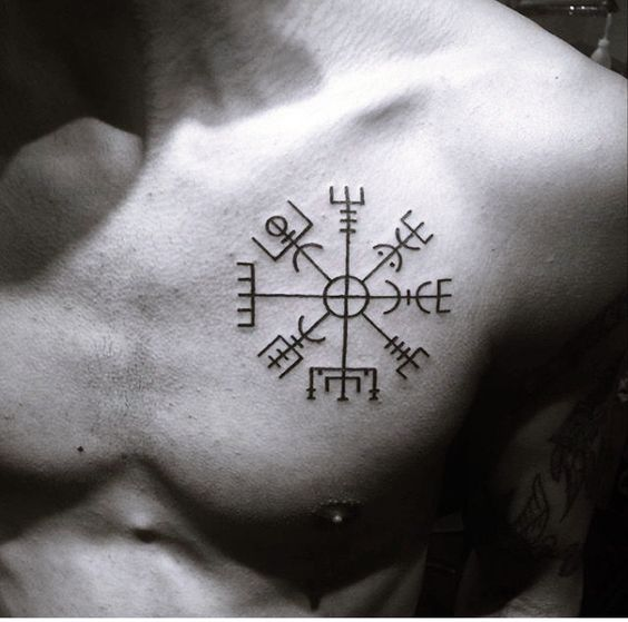 Meaningful Chest Tattoo men