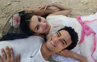 O casal Larissa e Diego. Foto – Globo.