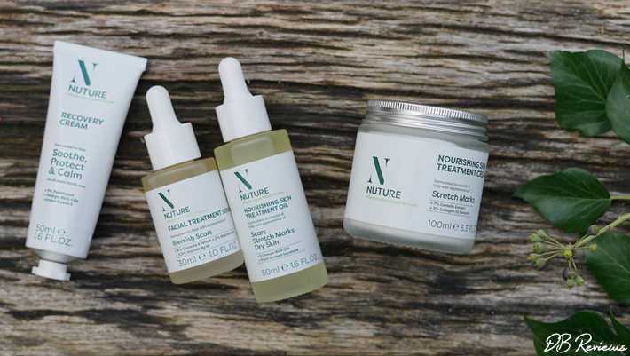 Nuture plant-based skincare brand