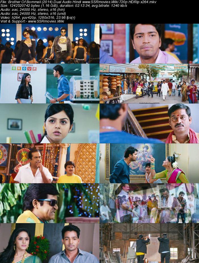 Brother Of Bommali (2014) Dual Audio Hindi 720p HDRip 1.1GB
