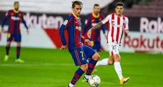 Antoine tops Barcelona goal involvement chart in 2021 season