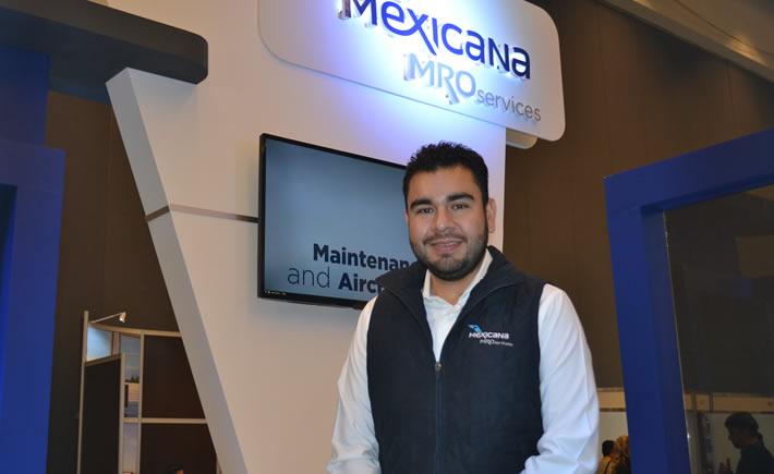 Gerardo Medina, Gerente de Comunicación Organizacional de Mexicana MRO Services (Foto: VI)
