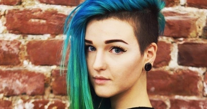 Cute And Easy Undercut Shaved Hairstyles 2015-Long-Side