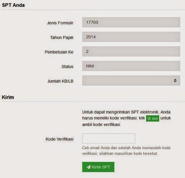 Cara Pengisian SPT Tahunan Secara Online dengan E-Filing Terbaru Update 2015