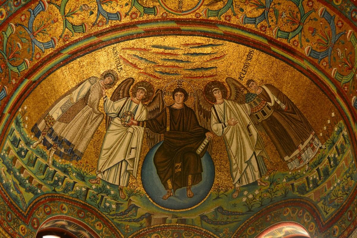 abside Saint Vitale Ravenne