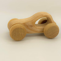 Cherry Car, DC01, Wooden Lotes Toys Family