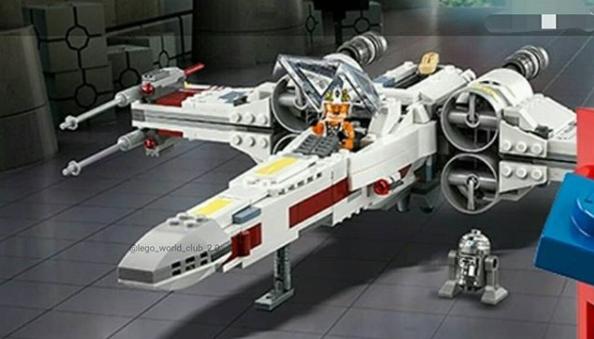 Anjs Brick Blog Lego Star Wars X Wing Starfighter 75218 Image